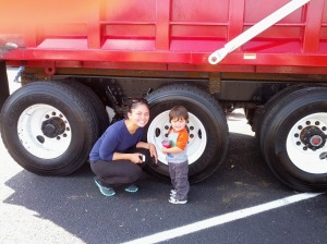 Touch a Truck with Mom